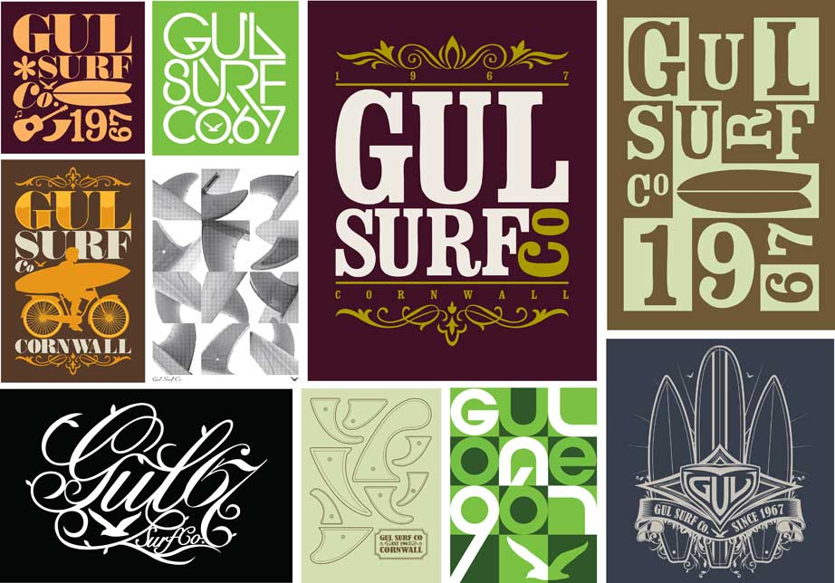 Surf Apparel Graphics - Graphic Design in Cornwall | James ...