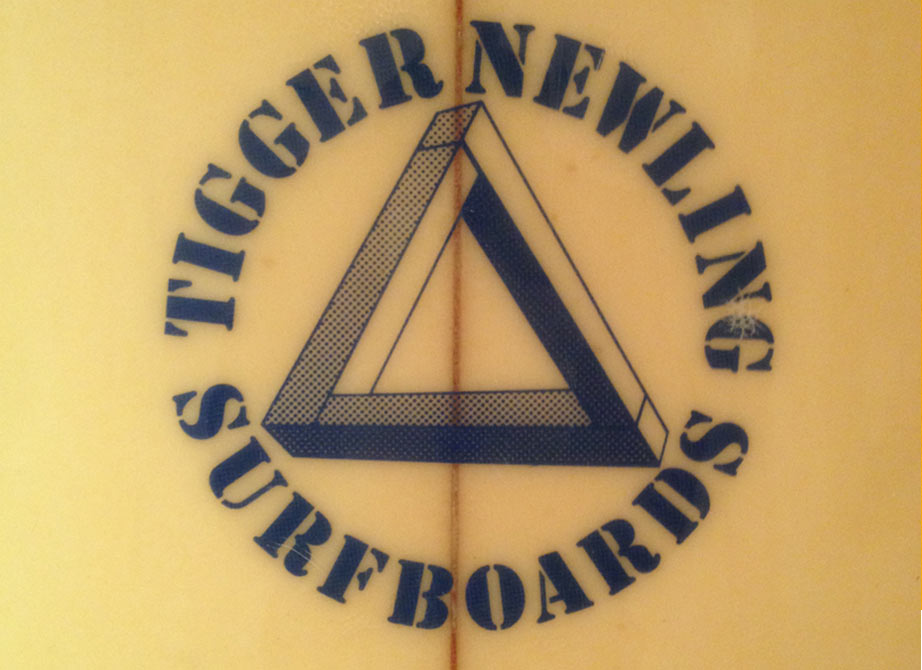 Tigger Newling Surfboards - Vintage Surfboard Graphics - Surf Exhibition Cornwall