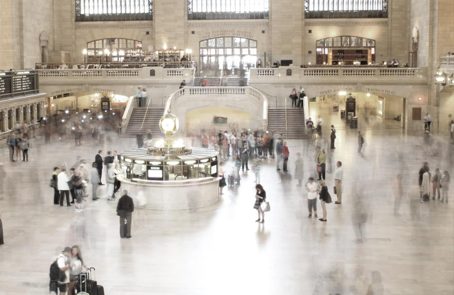 TImes Central Station bustle - New York City