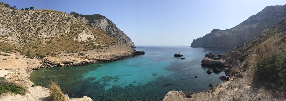 Cala Figuera beach Mallorca 2015