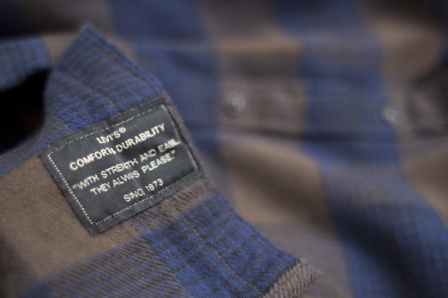 Levi's® Skate Reform Shirt - Demitasse - Label Detail