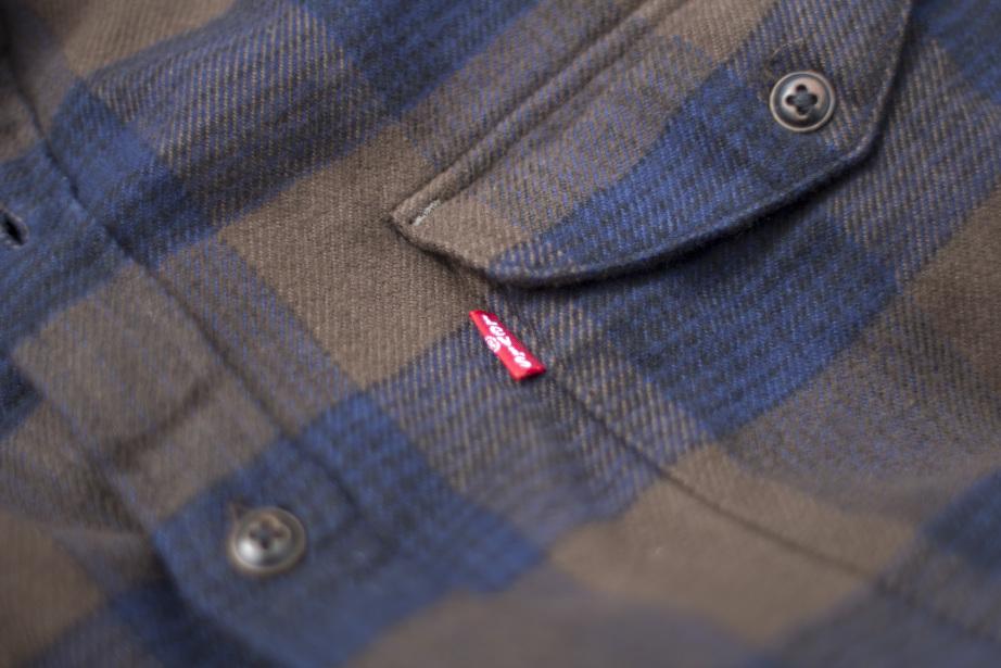 Levi's® Skate Reform Shirt - Demitasse Label Detail