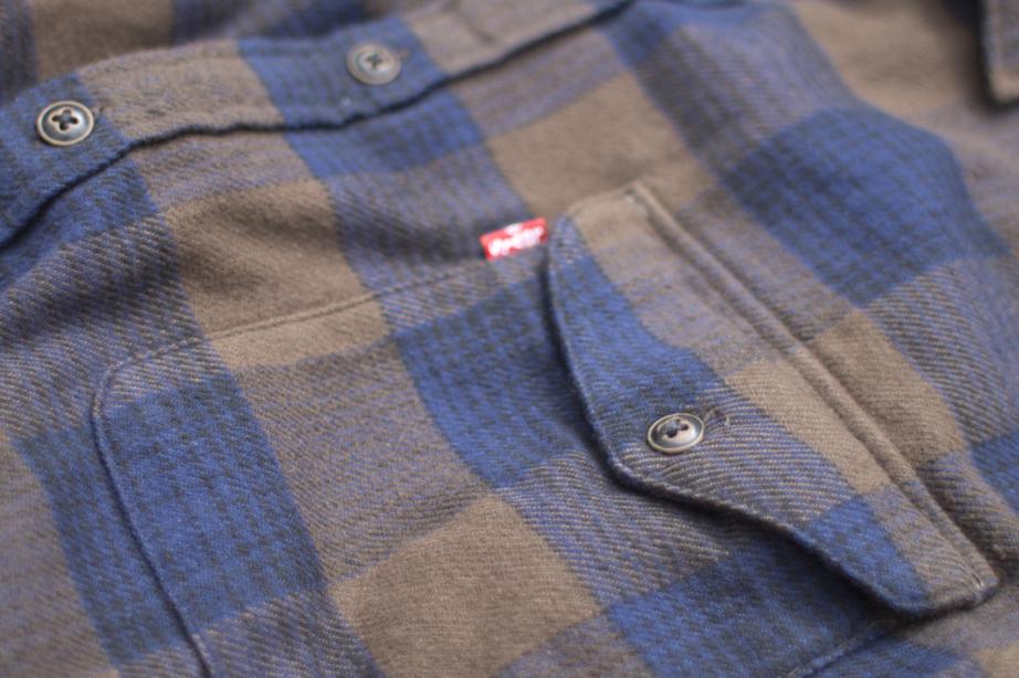 Levi's® Skate Reform Shirt Pocket Detail