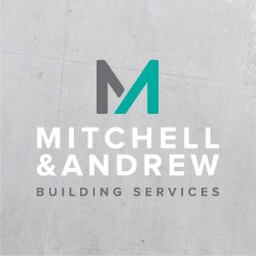 Logo design for Cornish building firm Mitchell & Andrew