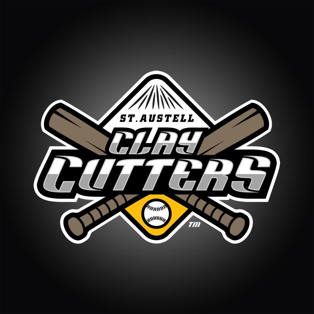 St Austell Claycutters Baseball Logo Design